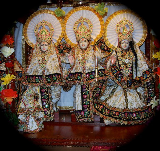 Ram, Lakshman and Sita