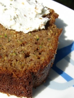 Moist Zucchini Bread Is Yummy!