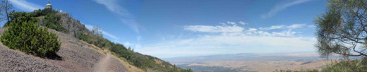 A typical view from Mount Diablo