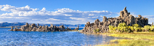 Monolith tufas at Mono Lake