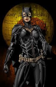 Barbara Gordon as Batgirl.