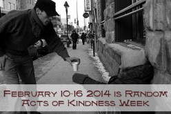 February 10-16 is Random Acts of Kindness Week