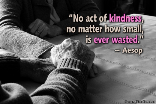 No Act of Kindness, No Matter How Small, is Ever Wasted -- Aesop