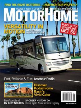 MotorHome Magazine - $19.97 Retail Price: $59.88 You Save: $39.91