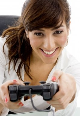 Your boyfriend will love it if you play video games with him.