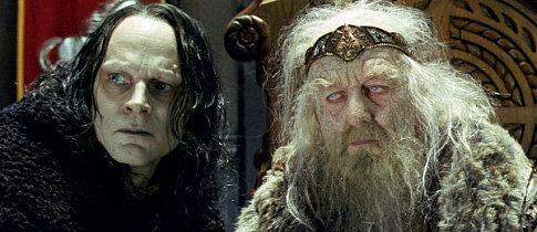 "The evil Wormtongue controls the bewitched King of Rohan through ""subtle poisons"" and whispered suggestions."