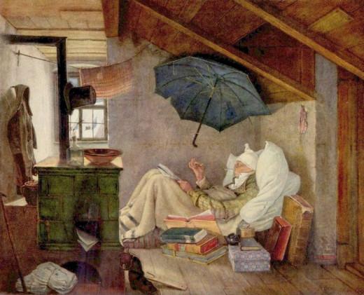 Der Arme Poet by Carl Spitzweg