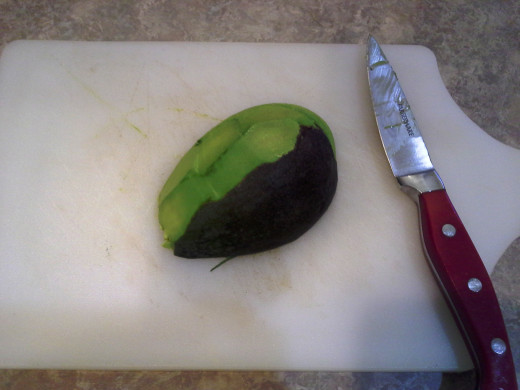 Step Five: Peel your avocado
