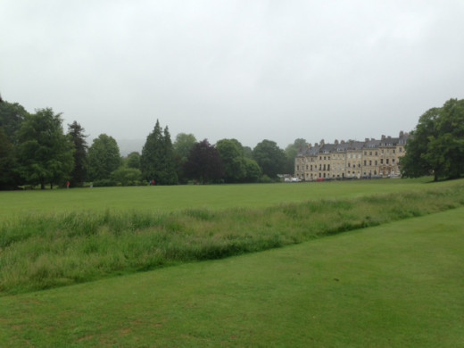 The view from the Royal Crescent