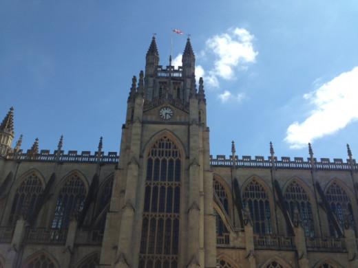 Bath Abbey, Bath, Somerset, UK