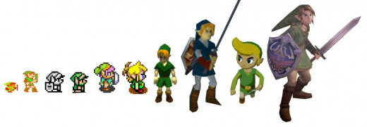 That one's named Link, and that one, and that one...