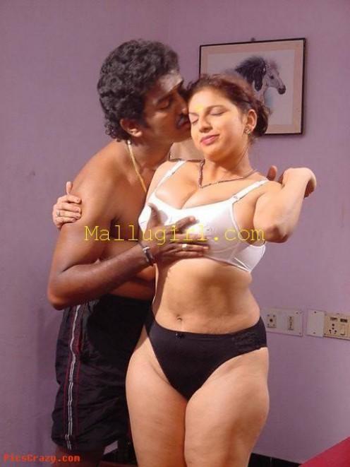 Saree Stripping Mallu Masala Aunty Photos Image 18