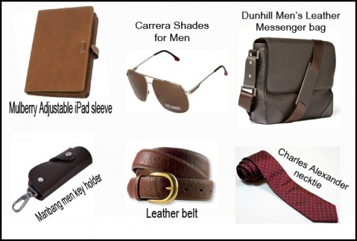Items that will make men look professional and sophisticated