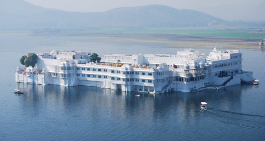 The Lake Palace On Lake Pichola.