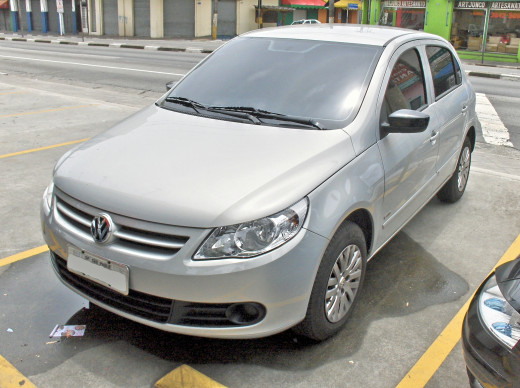 Volkswagen Gol - Best seller in the Brazilian market