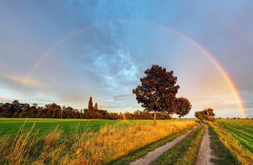 Can there be a pot of gold at the end of the rainbow for everyone? I wonder how many people become wealthy by telling other people how to make their fortune. Would these people still have become wealthy if it weren't for the existence of poor people?