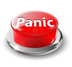 Don't panic, it's not the end of the world.