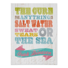 The Cure for Everything is Salt Water