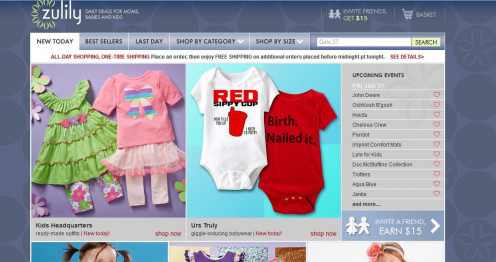 Baby Daily Deal Sites