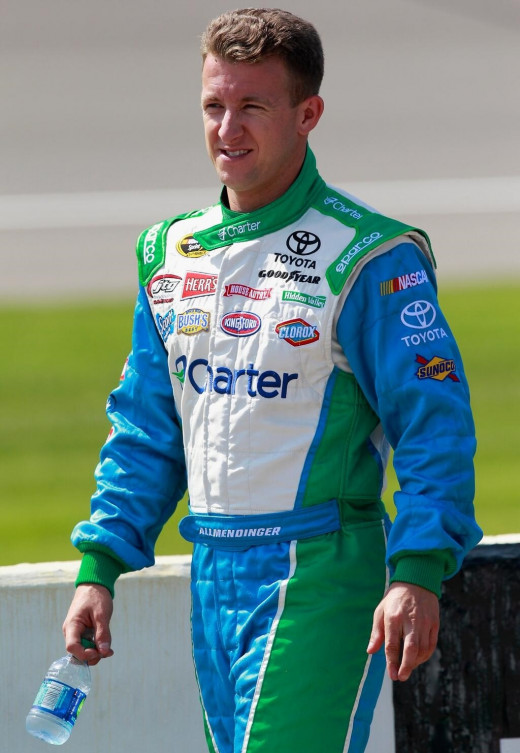 Allmendinger, a road course racing expert, could launch JTG-Daugherty into the Chase with a Glen win this year