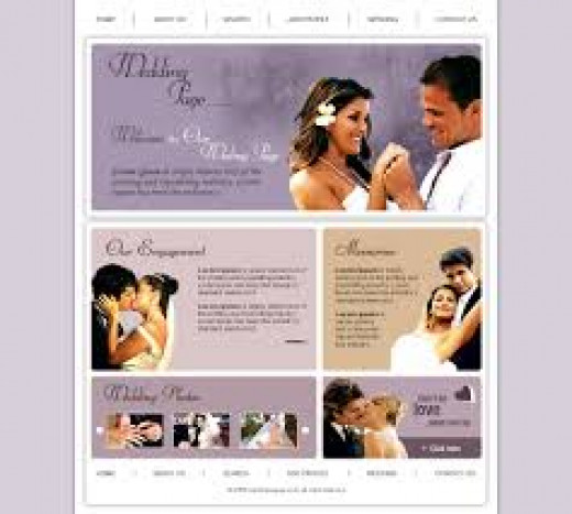 Wedding websites are fun and personal