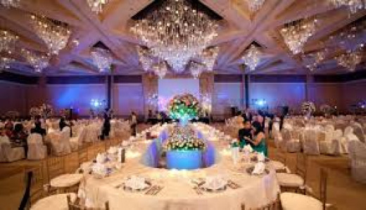 The venue is not what makes the wedding classy