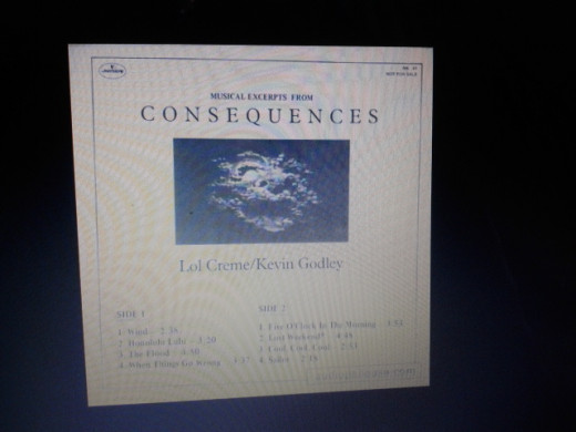 A USA Audiophile album with musical excerpts from Consequences