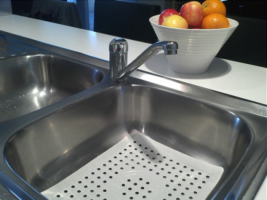 Check the taps to make sure you get clean hot and cold water.