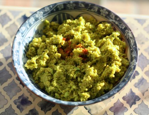 Healthy Edamame Hummus with a Twist