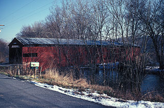 Ramp's Covered Bridge is the only remaining covered bridge in Cumberland County, Pa. It is still open to traffic.