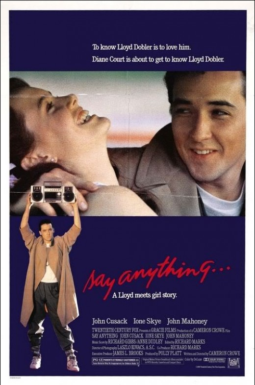 movie poster from Say Anything