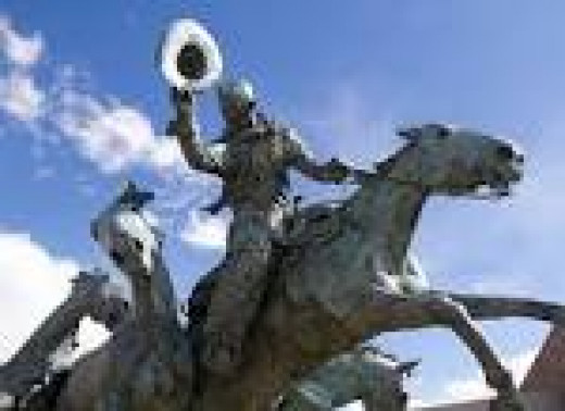 Statue of the Calgary Stampede