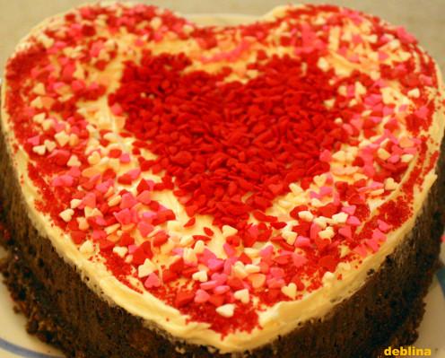 V-Day Special Chocolate Cake