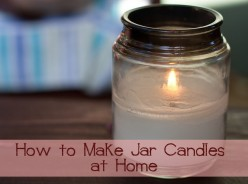 How to Make Jar Candles at Home