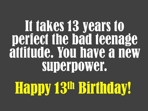 13th Birthday Quotes Funny. QuotesGram