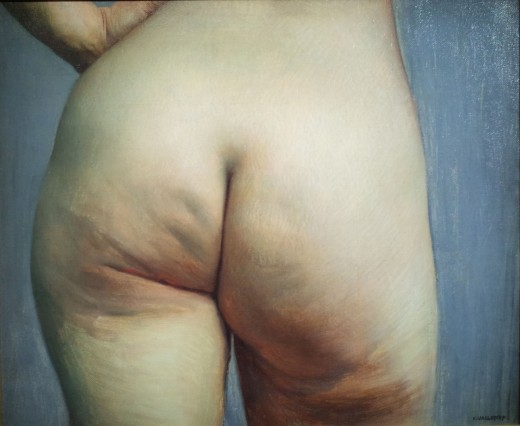 This was painted in 1884. Cellulite has been around forever.