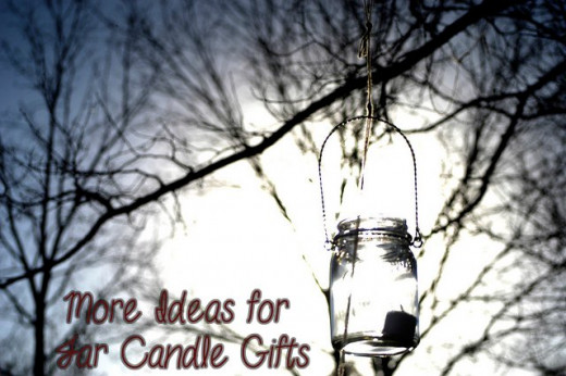 More Ideas for Jar Candle Gifts