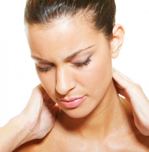 A neck massage works wonders if you arrive home with a headache