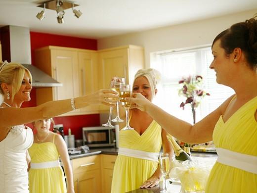 Inventive Bridal Party Attire