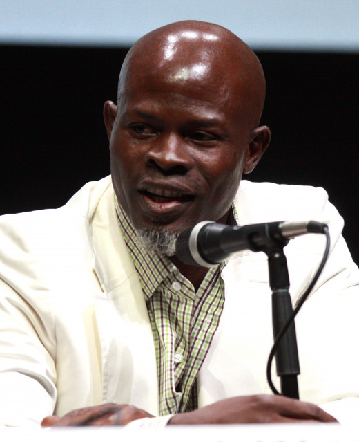 Hounsou was nominated for an Academy Award for his supporting actor role in Blood Diamond