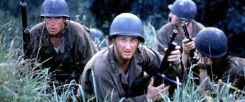 The Thin Red Line was a very vivid and dramatic account of the war. It was very realistic and graphic to say the least.