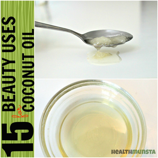 You'll be surprised how many beauty uses coconut oil can be put to!