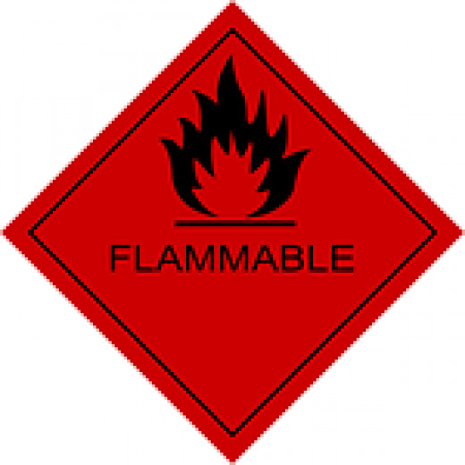 Signage for Flammable Materials