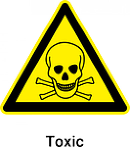 Poisonous Substances Safety Sign