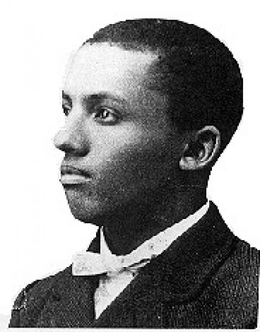 A portrait of a young Carter G Woodson