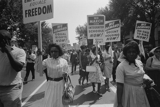 Civil Rights March in Washington, D.C., 1963