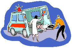 a holiday - the ambulance ride