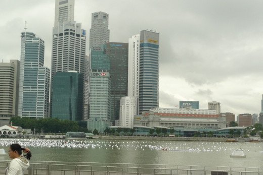 Singapore's Business District Landmark: Clifford Pier