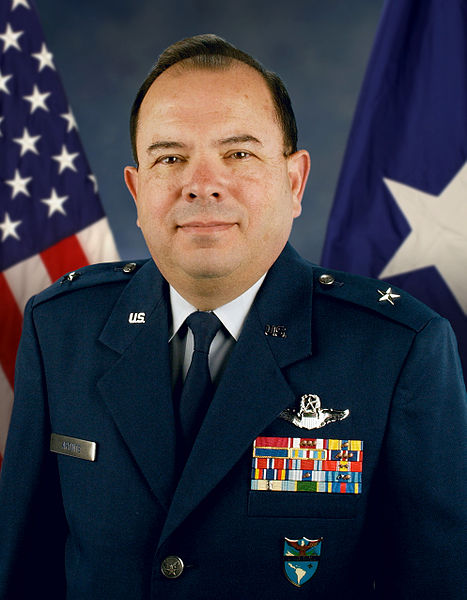 "Brigadier General Ricardo ""Rico"" Aponte.This image or file is a work of a U.S. Air Force Airman or employee, taken or made as part of that person's official duties. As a work of the U.S. federal government, the image or file is in the public domain."