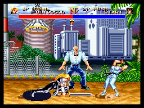 World Heroes is a fighting game made for the Neo Geo video game console. It features one on one battles in the best two out of three action.